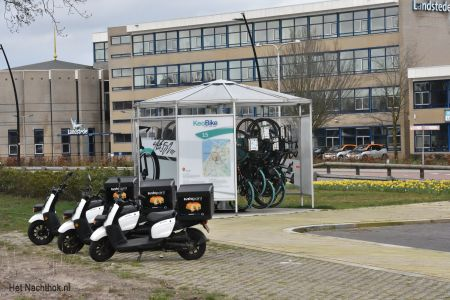 scooter stalling 727harderwijk